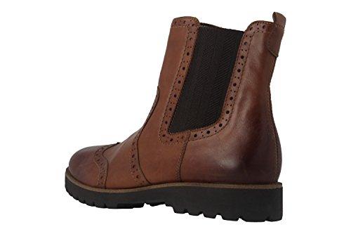 Remonte D0174 Damen Chelsea Boots Braun (Muskat/Muskat)