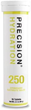 Precision Hydration Lite Electrolyte Drink - Multi Strength Effervescent Electrolyte Tablets (1 Tube, 250mg/L