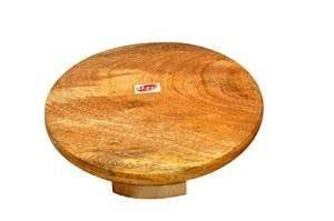 Hazel Wooden Polpat - Large, 24 Cm , Yellow, 1 Pc