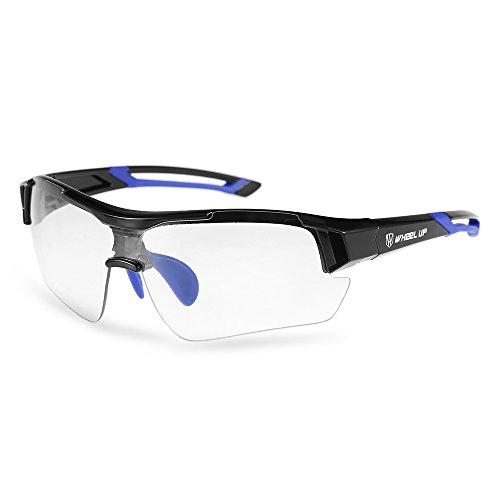 Lixada Photochromic Radfahren Sonnenbrille Fahrrad Polarisierte Sonnenbrille Sport Driving Golf Radfahren Angeln Skating Skifahren Reisen UV Schutzbrille