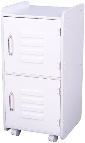 KidKraft Locker (Medium, White)