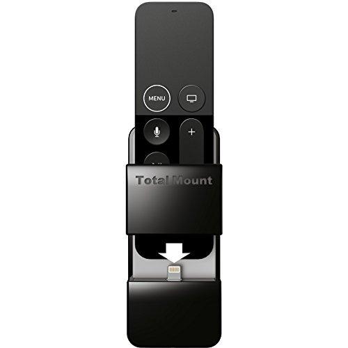 New-TotalMount Apple TV Fernbedienung Halterung (schützt und lädt Apple TV Fernbedienungen)