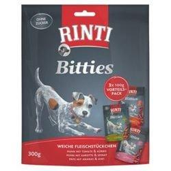 Rinti Bitties MP mit 3 versch. Sorten | 8 x300g Hundesnack