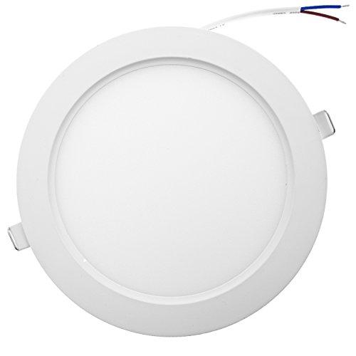 Taloya Star 12W LED Einbauspot Einbauleuchte Spot, Plastik, 12 W, Tageslichtweiß, 17 cm