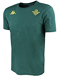 Camiseta de algodón de manga corta - Real Betis Balompié 2018 2019 - Kappa  Zoshim 5f3df7fb7592f