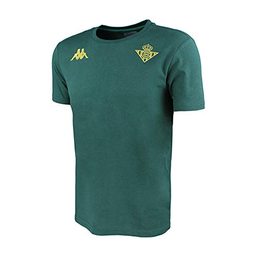 Camiseta de algodón de manga corta - Real Betis Balompié 2018/2019 - Kappa Zoshim Tee - Verde - M