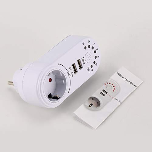 Tree-on-Life 220V Interruptor Temporizador Mini USB