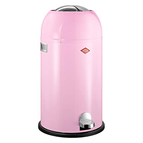 Wesco 184 631 Kickmaster Abfallsammler 33 Liter pink