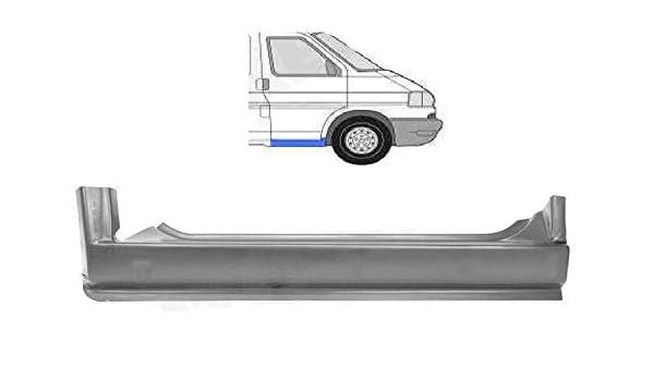 REPARATURBLECH SCHWELLER SEITLICH LINKS AUSSEN VW TRANSPORTER BUS T4 ALLE