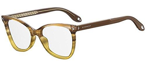 Givenchy Brillen GV 0065 STRIPED BROWN YELLOW GREEN Damenbrillen