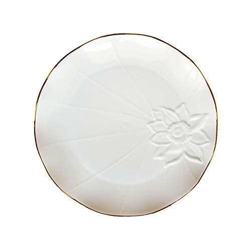 Keramik Westlichen Gericht Steak Platte Quadrat Platte Kreative Nordic Einfache Haushaltsgeschirr Phnom Penh Weiß U 10 Zoll