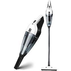 YZPCXQ Aspirateur Balai sans Fil, Batterie au Lithium de Poids numérique 300W et Brosse à LED numériques, aspirateur à Main
