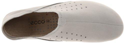 ECCO - Easy L, Scarpe chiuse Donna Bianco (Gravel)