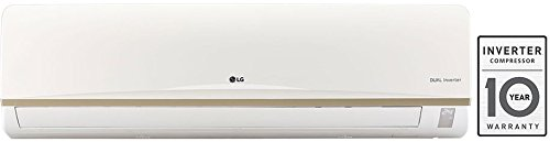 LG JS-Q18AUXA Inverter Split AC (1.5 Ton, 3 Star Rating, White)