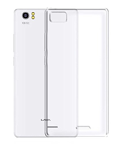 Stromax High Quality Ultra Thin Transparent Silicon Back Cover For Lava Pixel V2  available at amazon for Rs.125