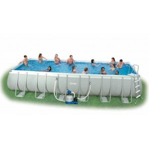 Intex 12-54978 Ultra Quadra II Frame Pool Set, 732 x 366 x 132 cm