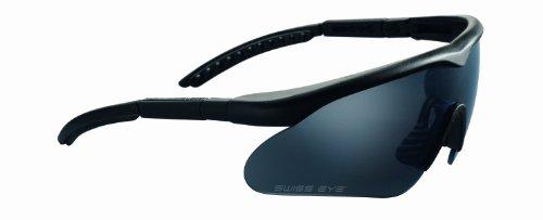 Swiss Eye Sportbrille Raptor, rubber black, 10161