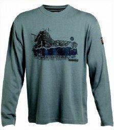 Timberland Pro 331 Langarm Shirt, Farbe: dirty grey, Gr. M