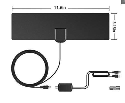 Yudanny 50 Meilen HDTV Amplified + HD TV Vision Digitales Signal Satellitenempfänger Antenne -