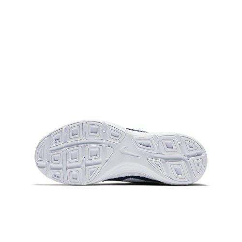 Nike Revolution 3 (gs) Baskets White-azzuro, Enfants Et Enfants