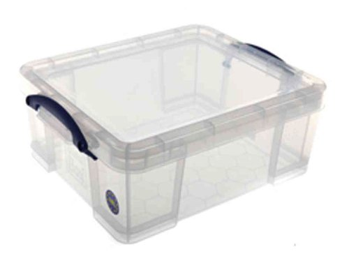 Really Useful Box 18C 18 Liter Box Transparent 480x390x200 mm PP