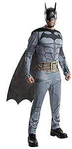 Rubies Disfraz de la Marca Batman de DC (Arkham City), para Hombre, tamaño Mediano, Pecho: 96-100, Cintura: 76-86, Entrepierna: 83