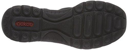Rieker Z3210, Baskets hautes femme Noir - Schwarz (schwarz/schwarz/granit / 01)