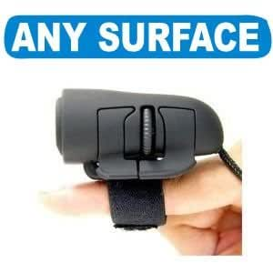 3D FINGER USB OPTICAL MOUSE   FOR ANY SURFACE   with Scroll Wheel and Left/Right Click for Laptop Notebook PC Small Mini Portable Plug & Play   Windows 2000/XP/Vista/7   Part of the TECH GEAR UK RANGE