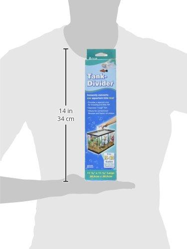 """Pen Plax TDLBX Large Tank Divider for Aquariums, 11-3/8"""" x 11-3/8"""" 3"""