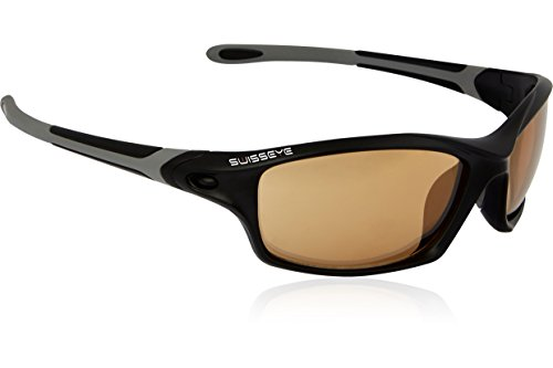 Swiss Eye Sportbrille Grip Black Matt/Dark Grey