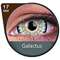 Kontaktlinsen Festive ohne Stärke Phantasee Modell Fancy 17mm Galactus