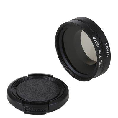 B.I.G. Polfilter 37mm mit Filteradapter für GoPro Hero