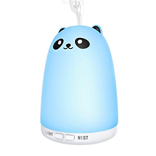 Aroma Difusor, VicTsing por ultrasonido Aroma aceite esencial difusor humidificador de BPA Free, LED con 7colores (256RGB) para yoga Salon SPA de salón, dormitorio, baño o la habitación de los Niños