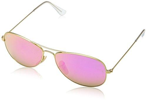Ray-Ban Unisex Sonnenbrille Rb3362 Gestell: Gold, Gläser: Zyklam Verspiegelt 112/4T), Large (Herstellergröße: 56)