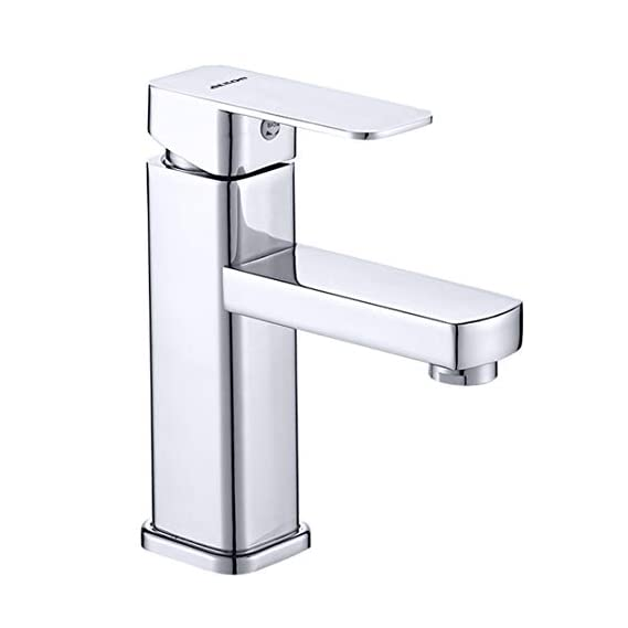 ALTON ABS Single Lever Basin Hot and Cold Mixer (Chrome, 180 x 170 x 180 mm)