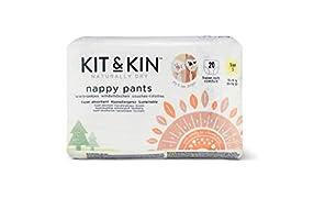 Kit & Kin - Pannolini ecologici, misura 5, ipoallergenici e sostenibili (20 x 6 confezioni, 120 pannolini)