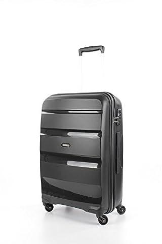 American Tourister Bon Air Spinner Reise Koffer Hartschalen Trolley Rollen Case, Bon Air Spinner, Farbe / Motiv Schwarz, Größe