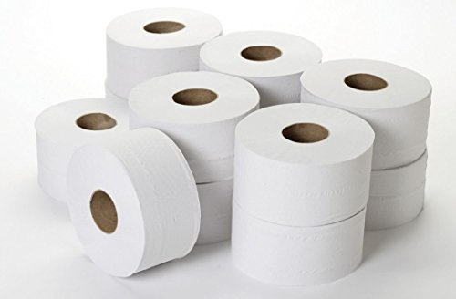 2-lagiges Toilettenpapier, Mini Jumbo, 7,6cm X 200m (12Stück)