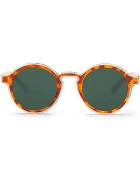 Mr Boho Dalston with Classical Lenses, Gafas de Sol Unisex, Contour Cream/Leo Tortoise, 46