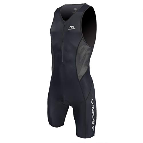 Aropec Evolution Black Triathlon Einteiler Herren - Trisuit Men, Größe:L