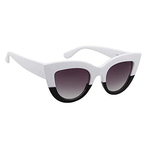 WERERT Sportbrille Sonnenbrillen Sunglasses Retro Cat Eye Sunglasses Ladies Designer Vintage Sunglasses Women UV400