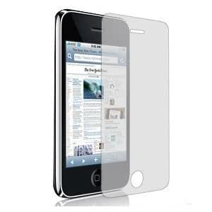 I-Boyz presents 6 Pack of Clear Film LCD Front Screen Shield Scratch Protector Guard for iPhone 3G/3GS