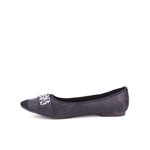 Cendriyon, Ballerine Noire STELANA Mode Chaussures Femme Noir