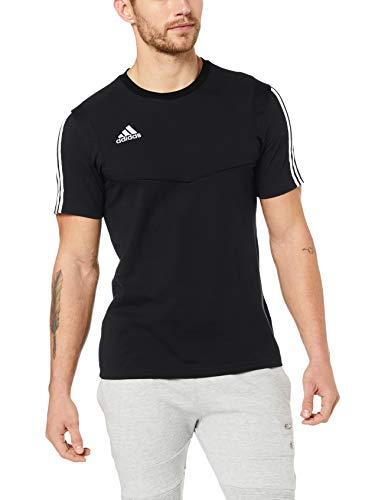 adidas Herren TIRO19 Tee T-Shirt, Black/White, M -