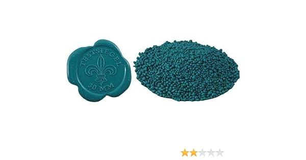 Siegellack in Perlenform 100 g für Siegel hart brüchig farbig Perlensiegellack