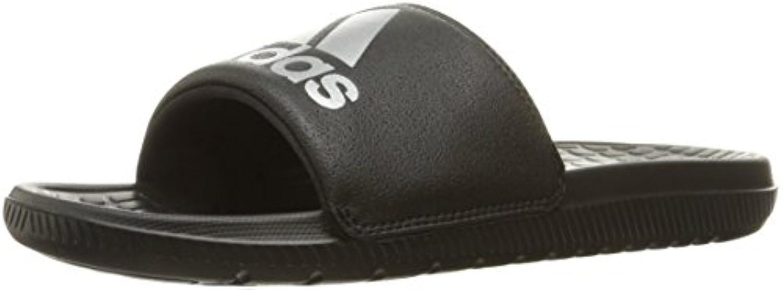 adidas Performance Voloomix M Slide Sandal, Schwarz/Silber/Schwarz, 5 m US -