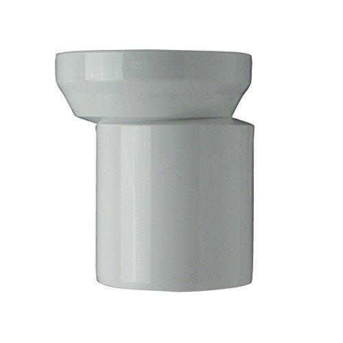 Cornat CKASTEM00 WC-Ablaufstutzen mit Excenter Muffe, weiß