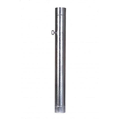 Tube galvanisé avec clé Taille 100 marque Practic - 100 cm long