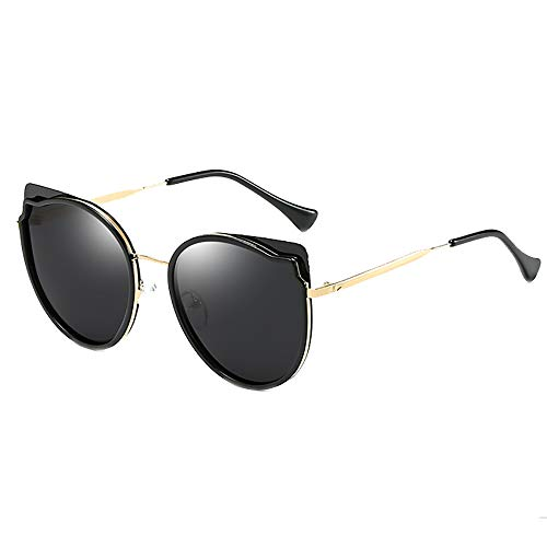 miaopai Sonnenbrille Polarisiert GroßEr Rahmen, Der Unisex-Sonnenbrillen FäHrt [Schwarze Graue Tabletten]