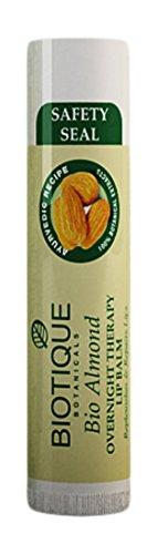 Biotique BIO Almond overnight Therapy Lip balm, 5g